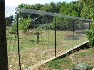 rifugio millevite recinzione